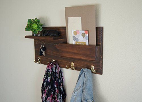 Entryway-Coat-Rack-Mail-Storage-and-Key-Hooks-Custom-Handmade-0-1