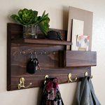 Entryway-Coat-Rack-Mail-Storage-and-Key-Hooks-Custom-Handmade-0