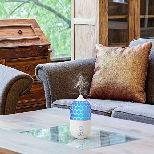 Essential-Oil-Diffuser-Ultrasonic-Cool-Mist-Aromatherapy-Multi-Color-LED-Light-Whisper-Quiet-3-Hour-Auto-Shut-off-Portable-for-Room-Home-Office-or-Yoga-Studio-0-1