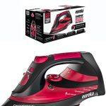 Eureka-Champion-Super-Hot-1500-Watt-Iron-Powerful-Steam-Surge-Technology-Rubine-Red-0