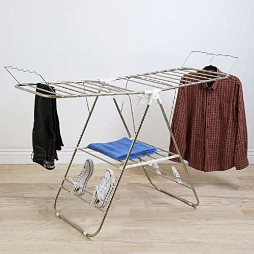 Everyday-Home-Everyday-Home-Sturdy-Adjustable-Gullwing-Drying-Rack-with-Shoe-Horns-0