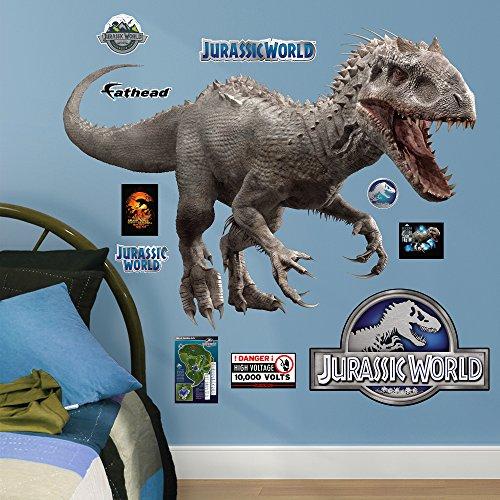 Fathead-Indominus-Rex-Jurassic-World-Junior-Peel-and-Stick-Wall-Decals-0