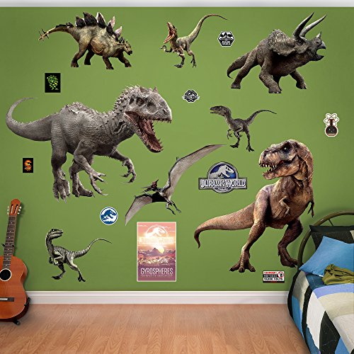 Fathead-Jurassic-World-Dinosaurs-Collection-Real-Decals-0