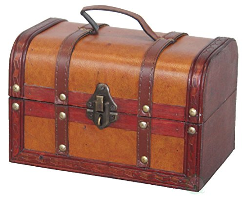 Faux-Leather-Pirate-Treasure-Chest-with-144-Coins-0-0