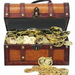 Faux-Leather-Pirate-Treasure-Chest-with-144-Coins-0