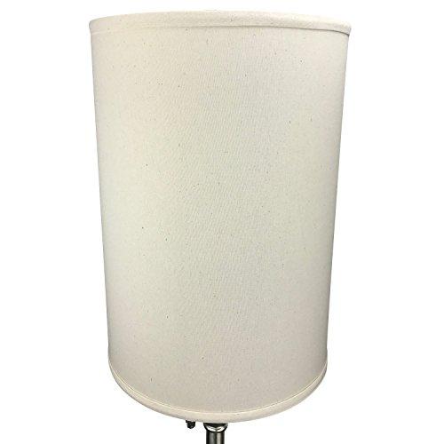 FenchelShadescom-12-Diameter-x-17-Height-Drum-Lampshade-Retro-Rustic-Vintage-Hardback-USA-Made-0-0