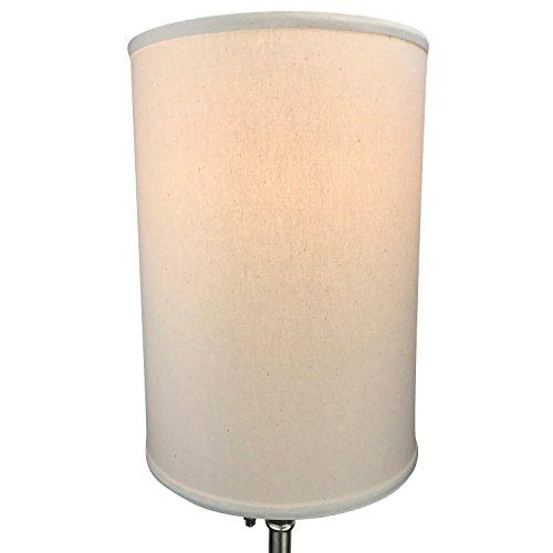 FenchelShadescom-12-Diameter-x-17-Height-Drum-Lampshade-Retro-Rustic-Vintage-Hardback-USA-Made-0-1