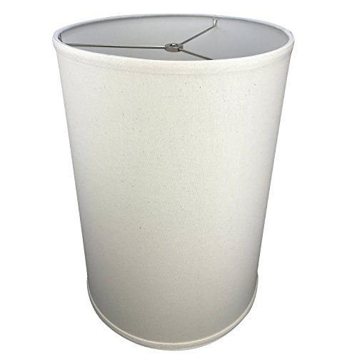 FenchelShadescom-12-Diameter-x-17-Height-Drum-Lampshade-Retro-Rustic-Vintage-Hardback-USA-Made-0