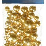Firefly-Imports-Assorted-Plastic-Bead-Pearls-14mm20mm30mm-Gold-84-Pack-0