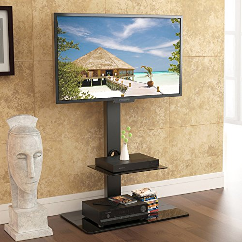 Fitueyes-TT207001MB-Swivel-TV-Stand-and-Mount-for-32-65-Inch-0