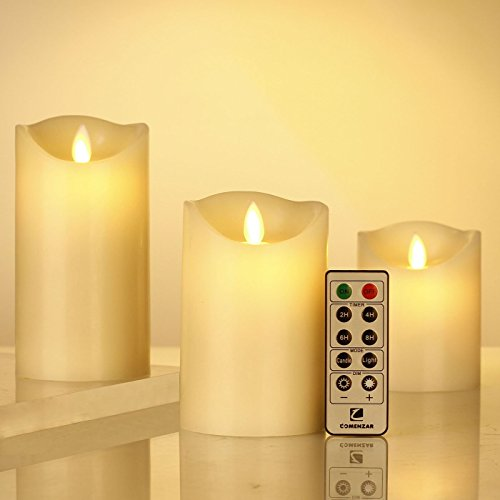 Flameless-Candles-Battery-Operated-Candles-with-Remote-Timer-of-24-H-Flickering-Flameless-Candles-Set-of-3456for-Parties-Gifts-and-Decoration-Use-Comenzar-0-0