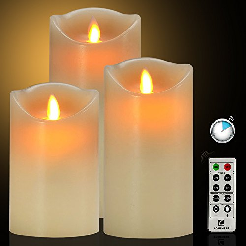 Flameless-Candles-Battery-Operated-Candles-with-Remote-Timer-of-24-H-Flickering-Flameless-Candles-Set-of-3456for-Parties-Gifts-and-Decoration-Use-Comenzar-0