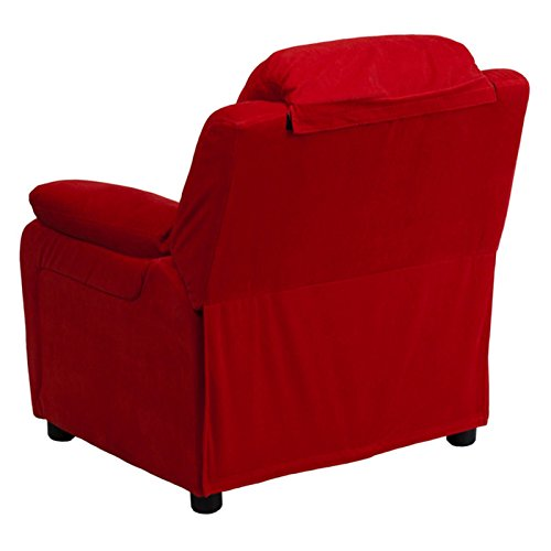 Flash-Furniture-Deluxe-Heavily-Padded-Contemporary-Avocado-Microfiber-Kids-Recliner-with-Storage-Arms-0-1