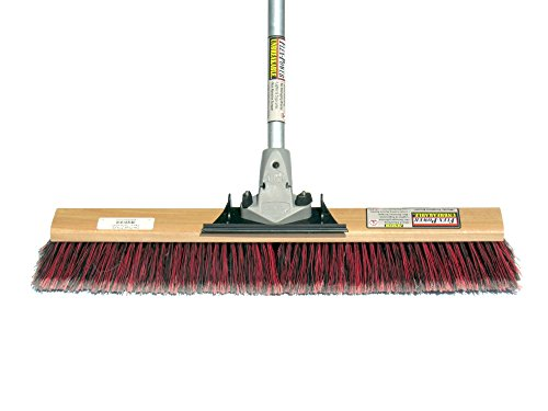 FlexSweep-Commercial-Push-Broom-Contractors-24-Fine-Bristles-Smooth-Surface-0