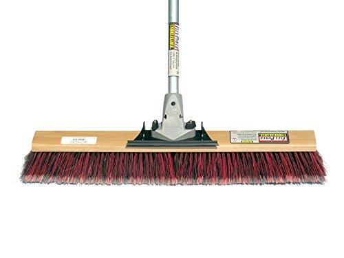 FlexSweep-Flex-Power-Unbreakable-Commercial-Push-Broom-By-Flex-Sweep-Contractors-30-Inch-Fine-Bristles-Smooth-Surface-0