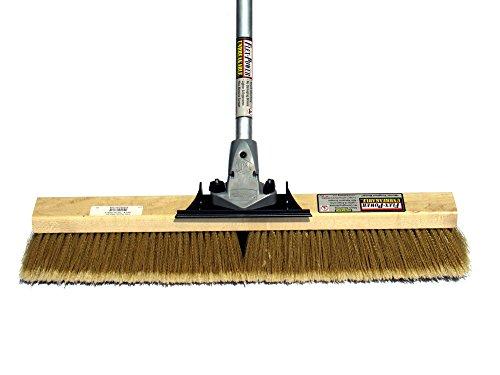 FlexSweep-Flex-Power-Unbreakable-Commercial-Push-Broom-Contractors-24-Inch-Medium-Bristles-Multi-Surface-0