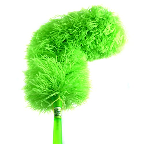 Fluffy-Microfiber-Duster-Best-Green-Cleaning-Washable-DustersReusable-Micro-Fiber-Bendable-Extendable-Add-Your-Handle-For-Long-Reach-Eco-Friendly-by-CleansGreen-Not-Ostrich-Feather-or-Lambs-Wool-0