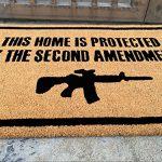 Freedom-Company-Second-Amendment-Doormat-100-All-Natural-Fibers-Coir-Eco-friendly-0-1