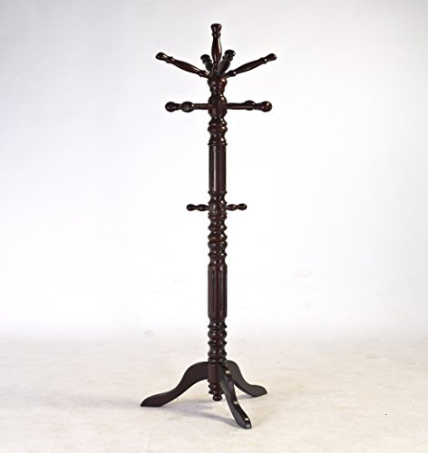 Frenchi-Home-Furnishing-Traditional-Spinning-Top-Wooden-Coat-Rack-0-3