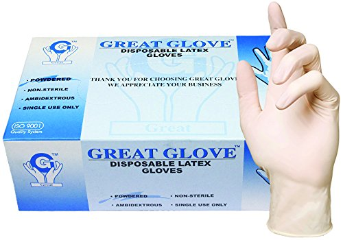 GREAT-GLOVE-Food-Safe-Industrial-Grade-Glove-Latex-45-mil-5-mil-Lightly-Powdered-Smooth-Rubber-Latex-0
