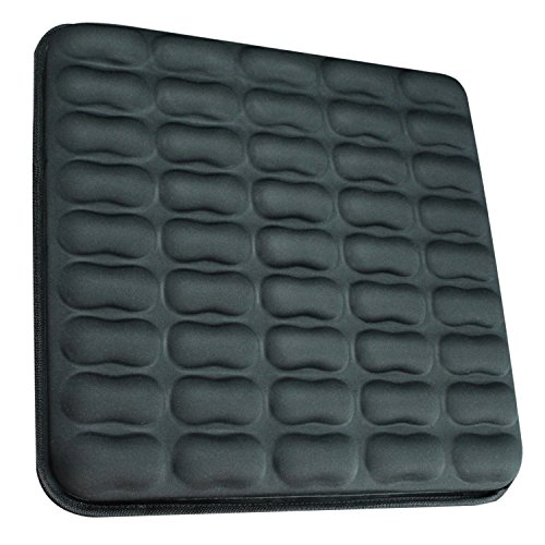 Gel-Seat-Cushion-by-Vive-Best-Orthopedic-Car-Truck-Wheelchair-Airplane-Stadium-Office-Pad-Sciatica-Back-Coccyx-Tailbone-Pillow-Cofortable-Pain-Relief-Vive-Guarantee-0