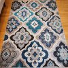 Generations-New-Contemporary-Panal-and-Diamonds-Beige-Navy-Coral-Blue-Grey-Modern-Area-Rug-Rugs-8036-0-1