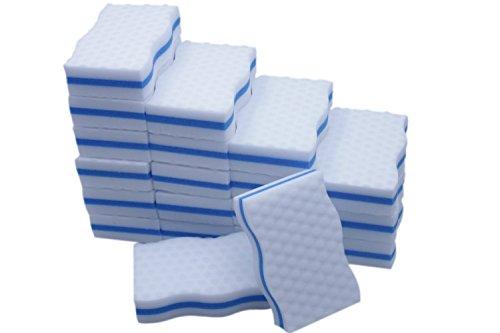 Generic-Magic-Eraser-Kitchen-Dish-Scrubber-Dual-Sided-Cleaning-Melamine-Foam-100X-60X-25mm-0