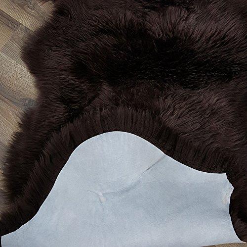 Genuine-Australian-Sheepskin-Rug-Two-Pelt-Fur-Double-0-0