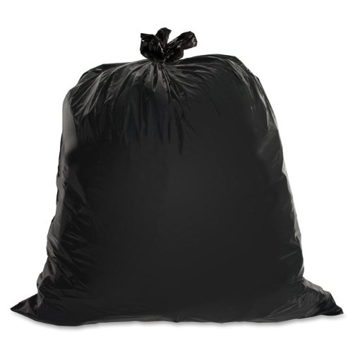 Genuine-Joe-GJO01533-Heavy-Duty-Low-Density-Puncture-Resistant-Trash-Bag-33-gallon-Capacity-150-mil-Thickness-Black-Box-of-100-0
