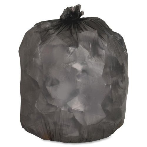 Genuine-Joe-GJO70421-Low-Density-Trash-Can-Liner-45-gallon-Capacity-46-Length-x-40-Width-x-045-mil-Thickness-Black-Case-of-250-0