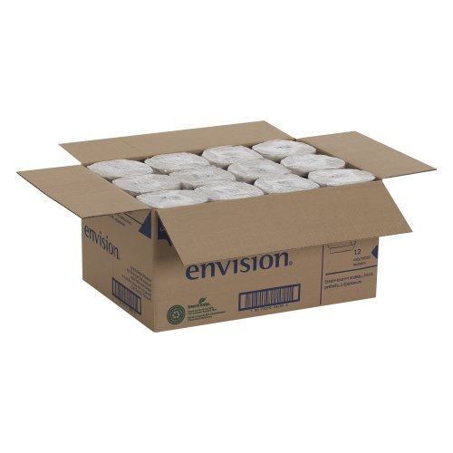 Georgia-Pacific-Envision-28290-Brown-High-Capacity-Perforated-Paper-Kitchen-Roll-Towel-88-Length-x-11-Width-Case-of-12-Rolls-250-per-Roll-0-1