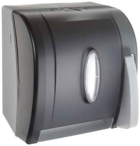 Georgia-Pacific-Vista-Black-Hygienic-Push-Paddle-Roll-Paper-Towel-Dispenser-0-0