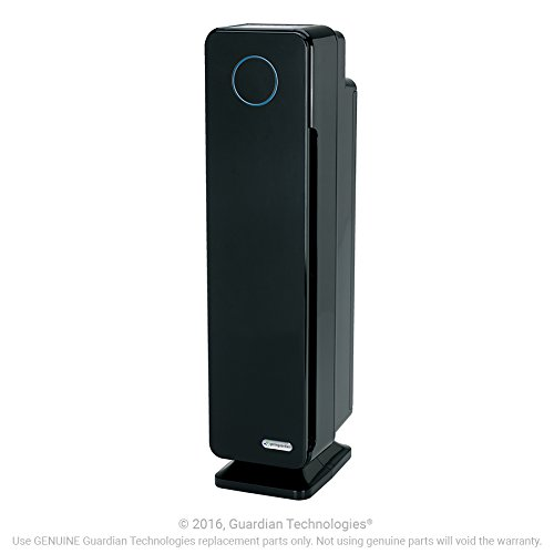 GermGuardian-AC5350B-Elite-4-in-1-True-HEPA-Air-Purifier-System-with-UV-Sanitizer-and-Odor-Reduction-28-Inch-Digital-Tower-0-1