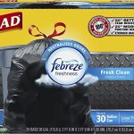 Glad-OdorShield-Extra-Strong-Drawstring-Large-Trash-Bags-Fresh-Clean-30-Gallon-25-Count-Pack-of-4-0