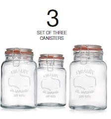 Glass-Canister-Quality-Set-of-3-Clear-Round-Jar-with-Hermetic-Seal-Bail-Trigger-Airtight-Lock-for-Kitchen-Food-Storage-Containers-0-0
