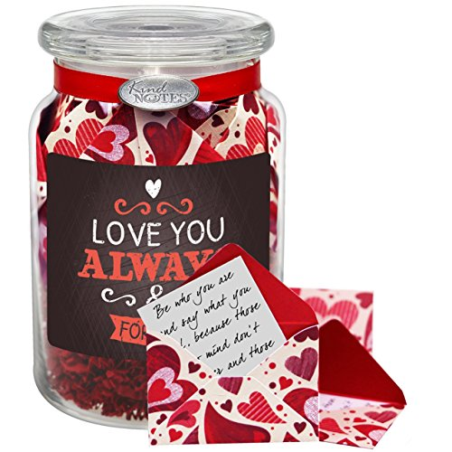 Glass-KindNotes-LONG-DISTANCE-RELATIONSHIP-Keepsake-Gift-Jar-of-Messages-for-Him-or-Her-Birthday-Anniversary-Just-Because-0-1