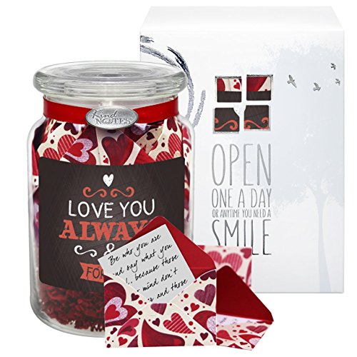 Glass-KindNotes-LONG-DISTANCE-RELATIONSHIP-Keepsake-Gift-Jar-of-Messages-for-Him-or-Her-Birthday-Anniversary-Just-Because-0
