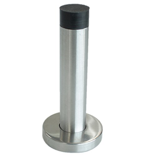 Gobrico-GBDS134SS85-Stainless-Steel-Door-Stopper-Wall-Mount-With-Black-Rubber-Height-85mm-3-13-Door-Holder-Catch-Stop-0