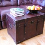 Gold-Rush-Steamer-Trunk-Wood-Storage-Wooden-Treasure-Chest-0-1
