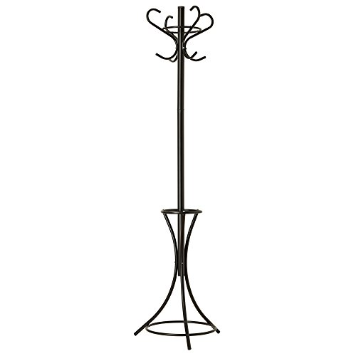 GrayBunny-GB-6808-Metal-Coat-Rack-Hat-Stand-Umbrella-Holder-Hall-Tree-Black-For-Home-or-Office-PARENT-0