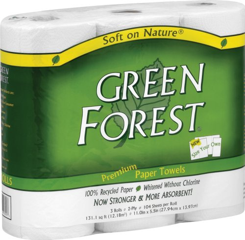 Green-Forest-100-Recycled-Paper-Towels-104-count-3-rolls-Pack-of-10-0-1