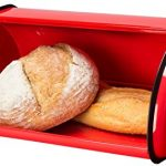 Greenco-High-Quality-Stainless-Steel-Bread-Bin-Storage-Box-Bread-Container-Bread-Box-Roll-up-Lid-0