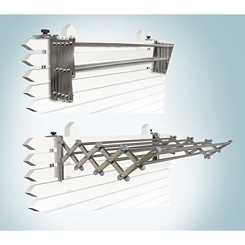 Greenway-IndoorOutdoor-Stainless-Steel-Expandable-Drying-Rack-0-0