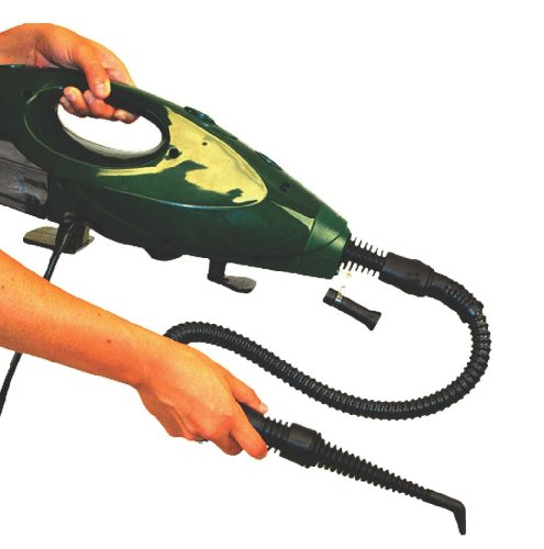Gruene-Clean-System-Steam-Mop-Hand-Held-Steamer-w-Attachments-0-1