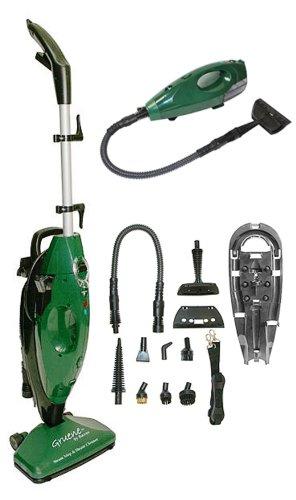 Gruene-Clean-System-Steam-Mop-Hand-Held-Steamer-w-Attachments-0