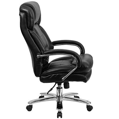 HERCULES-Series-247-Intensive-Use-Multi-Shift-Big-Tall-500-lb-Capacity-Black-Leather-Executive-Swivel-Chair-with-Loop-Arms-0-0