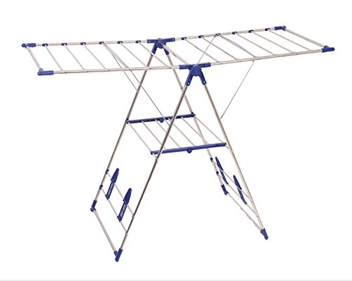 Heavy-Duty-Stainless-Steel-Gullwing-Clothes-Drying-Rack-0