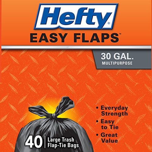 Hefty-Easy-Flaps-Trash-Bags-Multipurpose-30-Gallon-40-Count-Pack-of-6-0-1