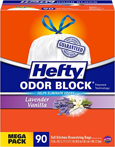 Hefty-Odor-Block-Tall-Kitchen-Bags-Lavender-Vanilla-90-Count-Pack-of-3-0