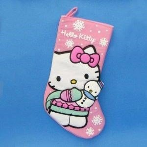 Hello-Kitty-19Pink-Stocking-With-Snowman-by-Christmas-Stocking-0